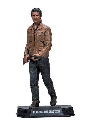 Fear The Walking Dead Color Tops Action Figure Travis Manawa 18 cm