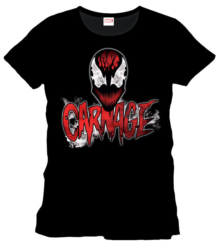 Marvel Comics T-Shirt Spidy Carnage Size S