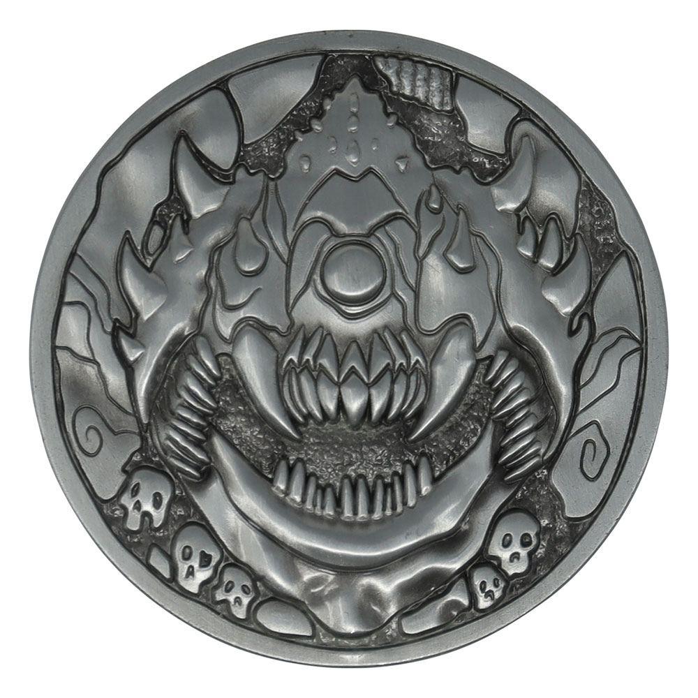 Doom Medallion Cacodemon Level Up Limited Edition