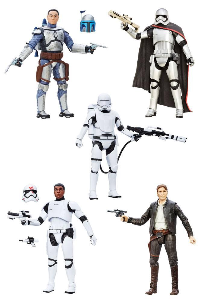 Star Wars Episode VII Black Series Action Figures 15 cm 2016 Wave 1 Assortment (6)