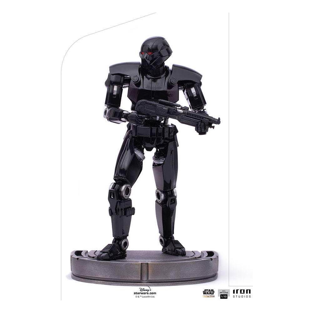 Star Wars The Mandalorian BDS Art Scale Statue 1/10 Dark Trooper 24 cm