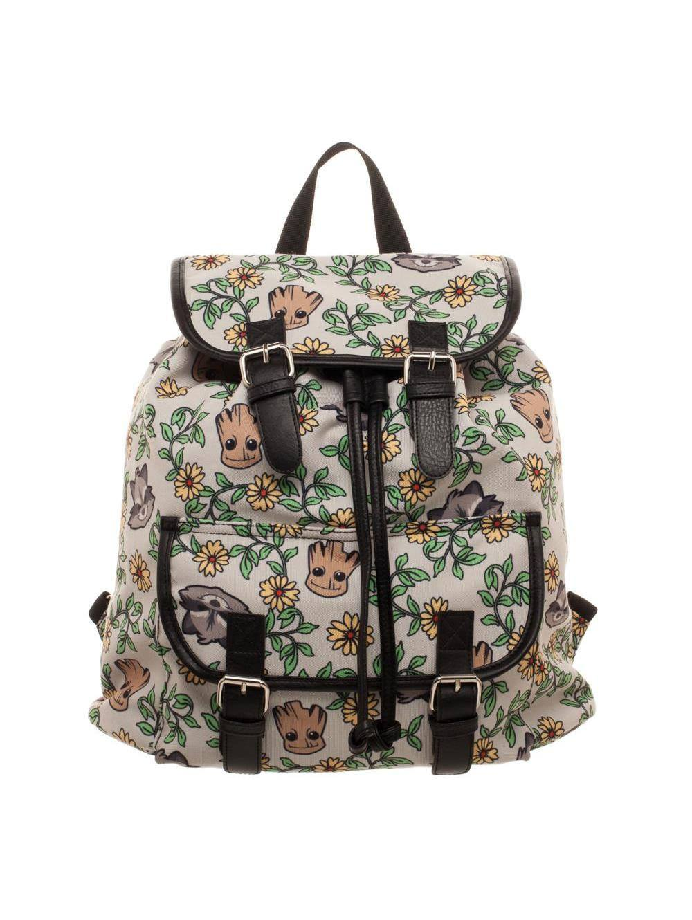 Guardians of the Galaxy Backpack Groot & Rocket Floral