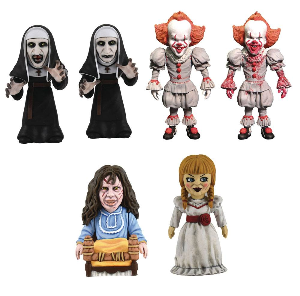 Horror D-Formz PVC Figures Series 1 Display (12)