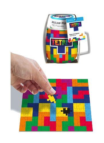 Tetris Mug & Jigsaw Puzzle Set Tetriminos