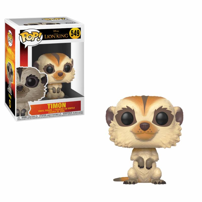 The Lion King (2019) POP! Disney Vinyl Figure Timon 9 cm