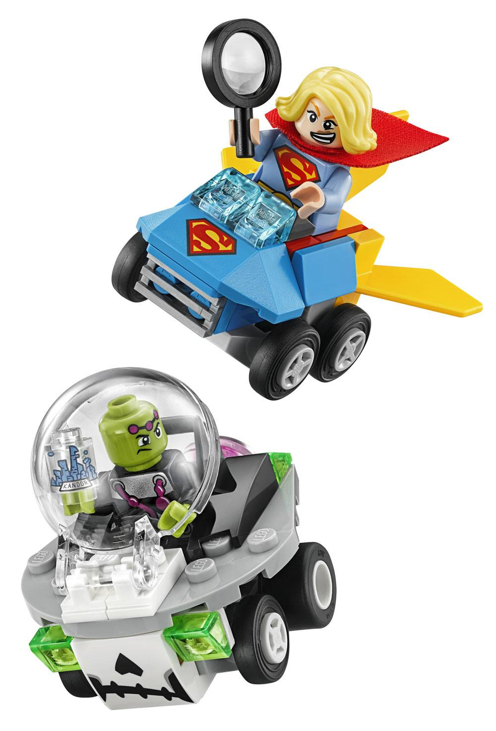 LEGO® DC Universe Super Heroes™ Mighty Micros - Supergirl™ vs. Brainiac™ --- DAMAGED PACKAGING