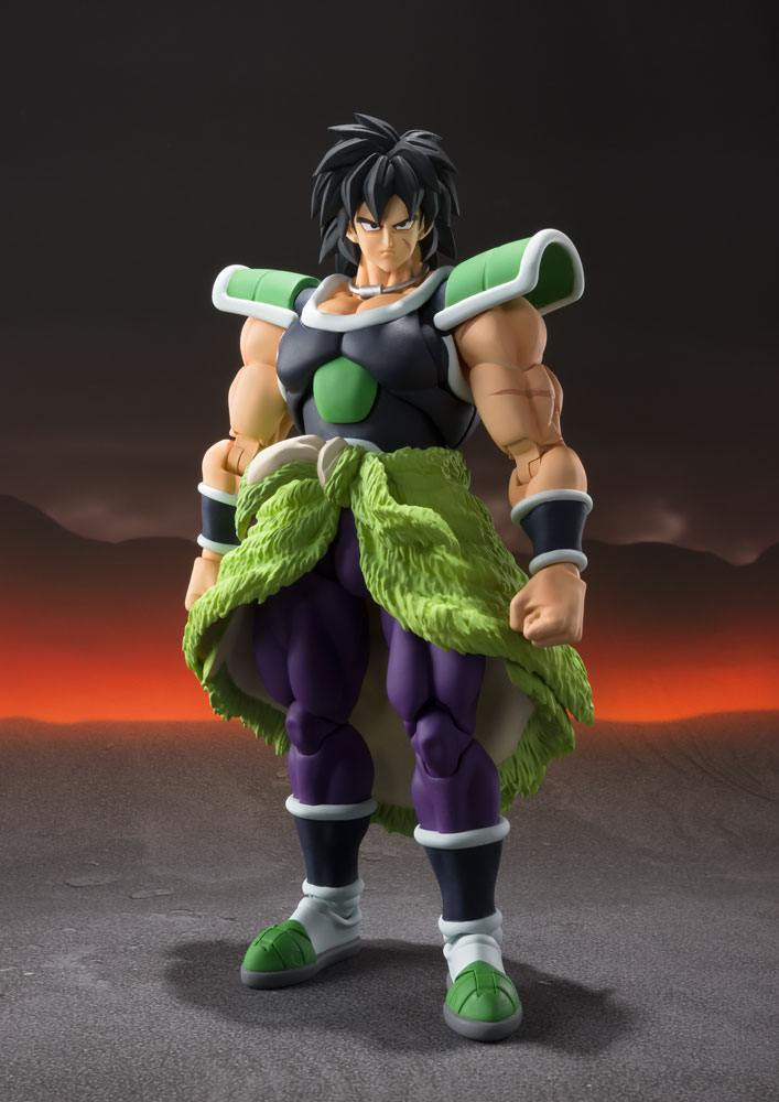 Dragon Ball Super Broly S.H. Figuarts Action Figure Broly 19 cm