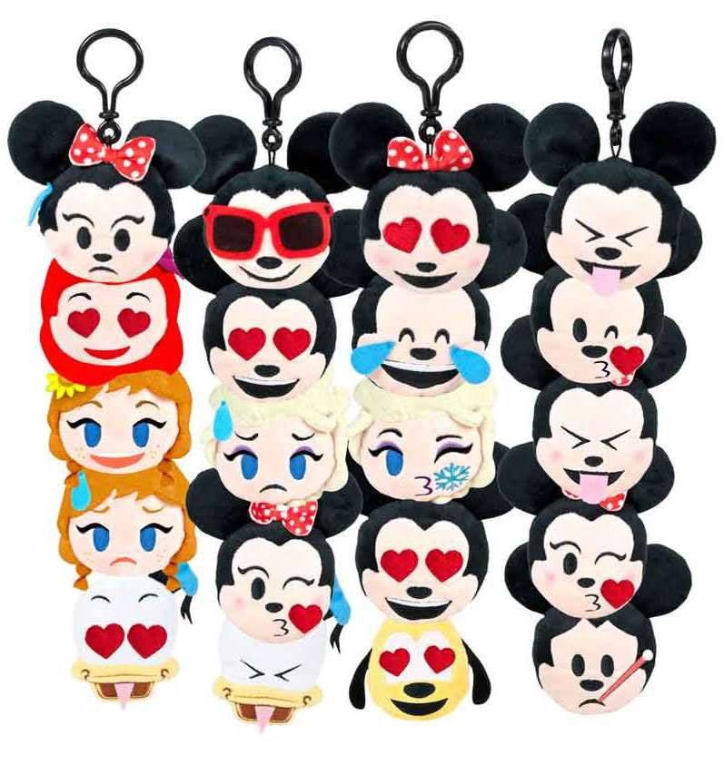 Disney Emojis Plush Keychains 8 cm Assortment (20)