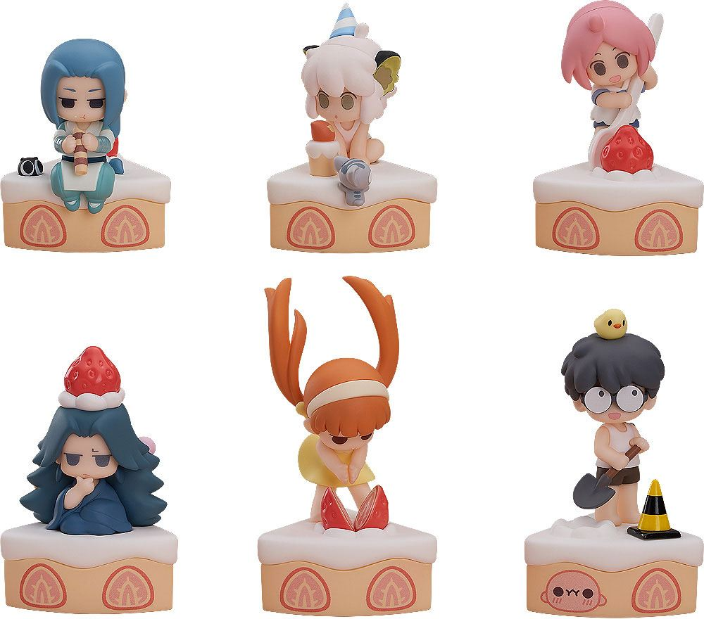 The Legend of Hei Collectible Series Mini Figures 6-Pack Happy Birthday! 7 cm
