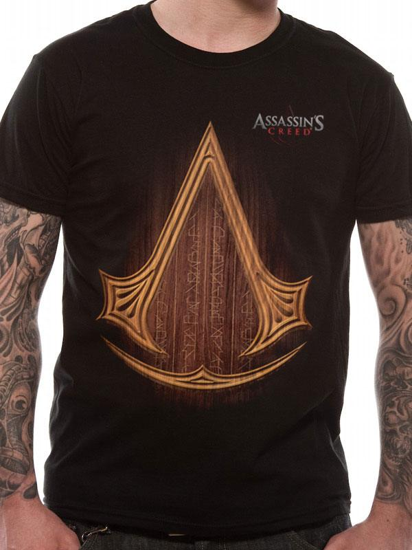 Assassin's Creed Movie T-Shirt Icon Logo Size M