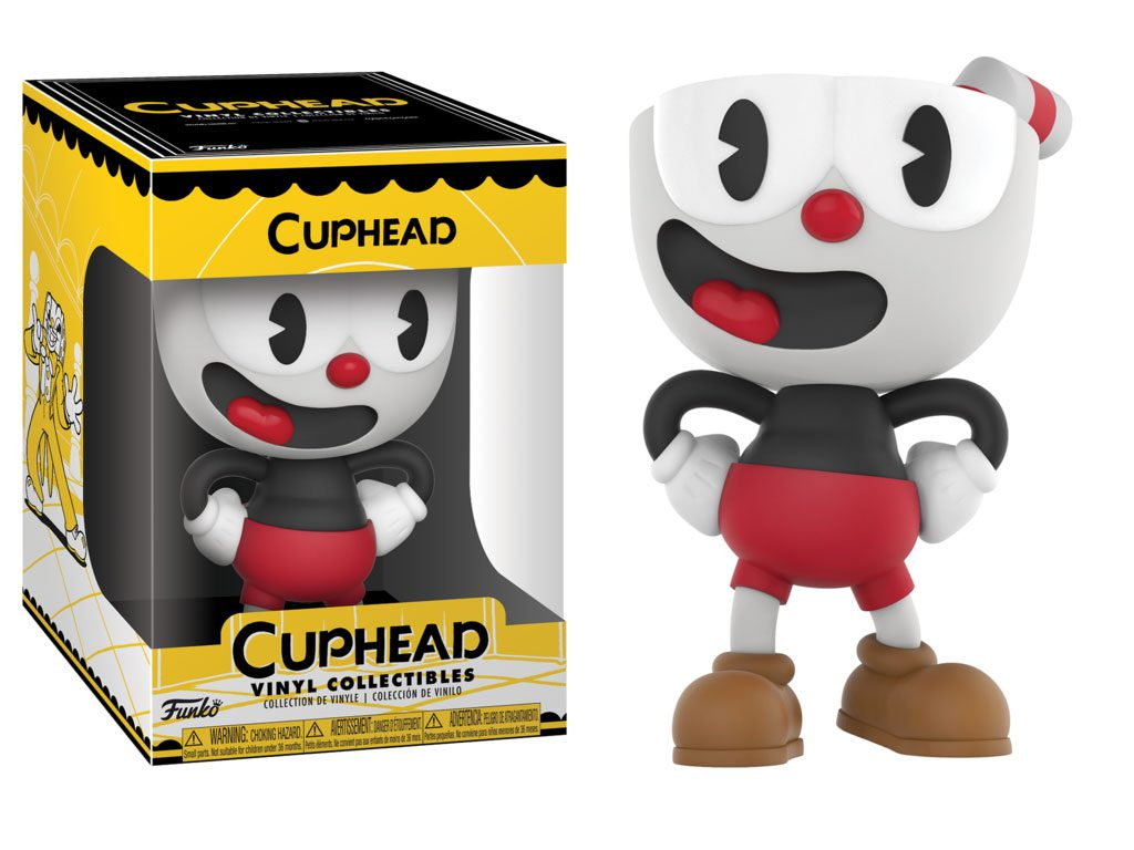 Cuphead Vinyl Collectible Figure Cuphead 10 cm