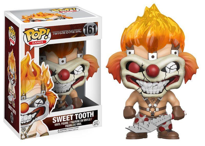 Twisted Metal POP! Games Vinyl Figure Sweet Tooth 9 cm