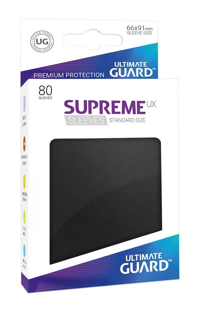 Ultimate Guard Supreme UX Sleeves Standard Size Black (80)