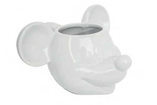 Mickey Mouse 3D Mug White