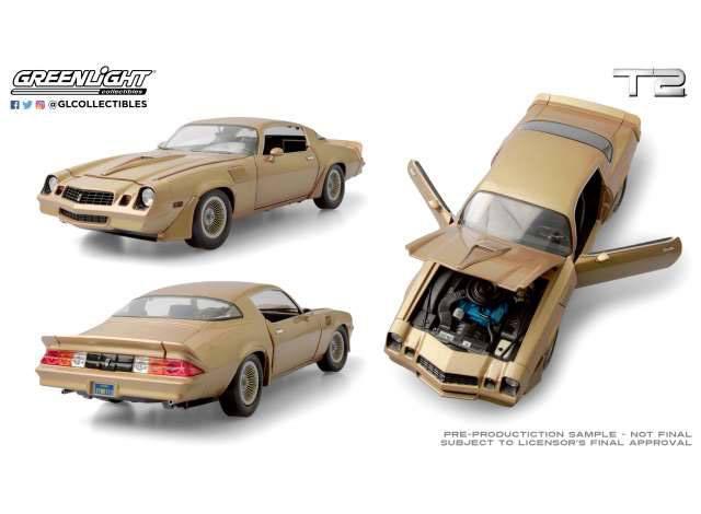 Terminator 2 Diecast Model 1/18 1979 Chevrolet Camaro Z/28