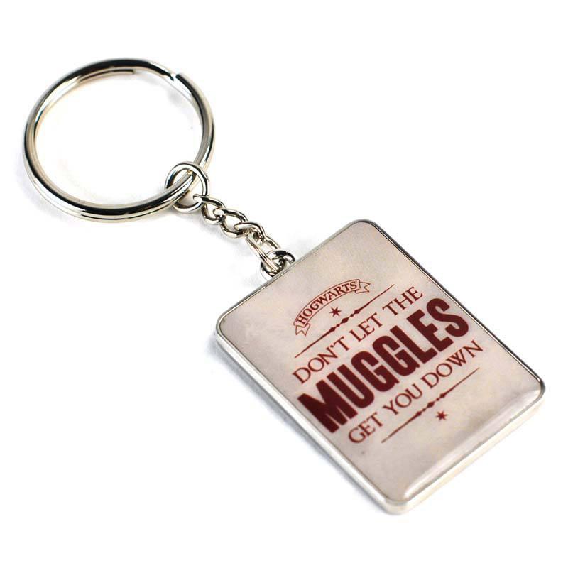 Harry Potter Metal Keychain Gryffindor Muggles 5 cm