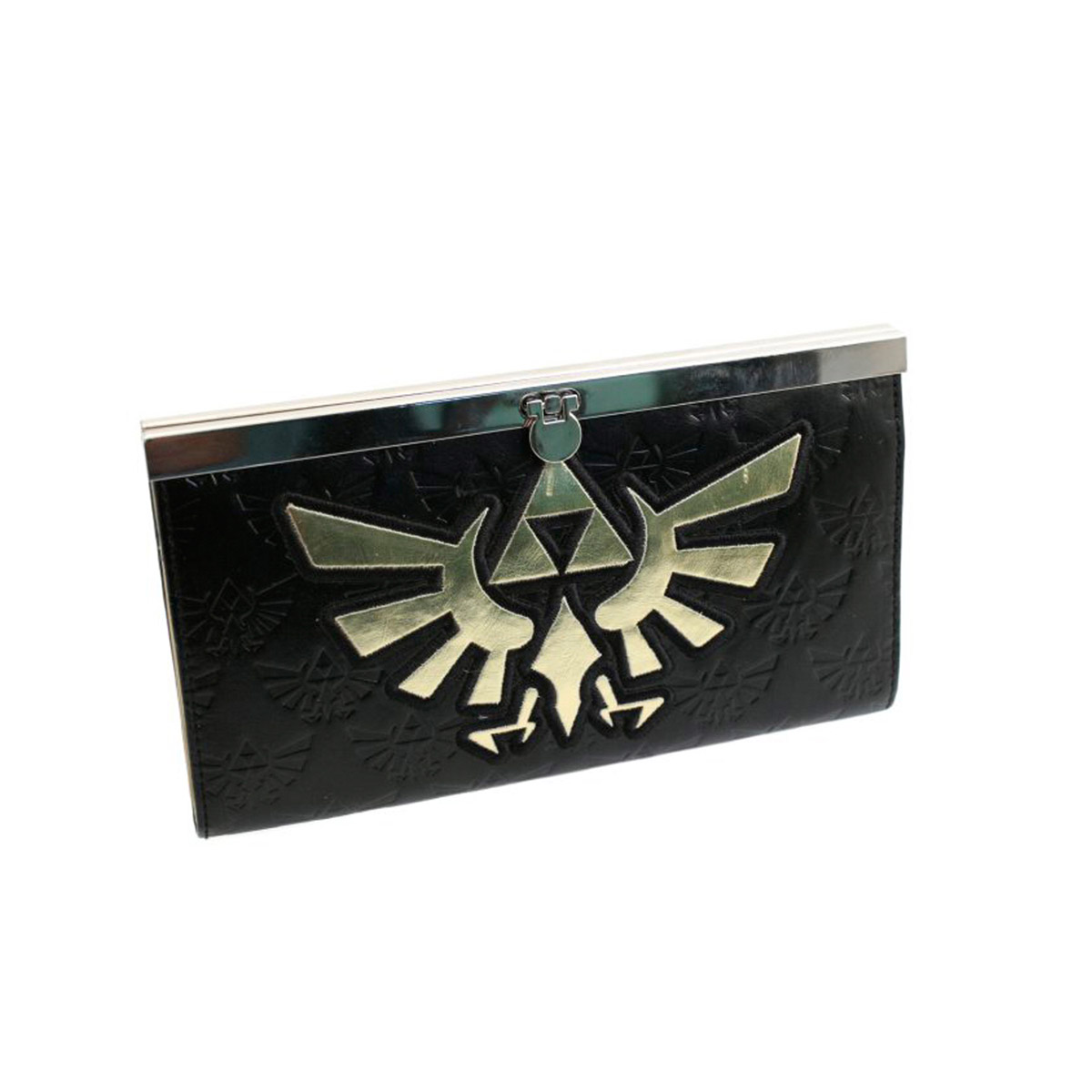 Nintendo Zelda Golden Logo Girl Wallet (black)