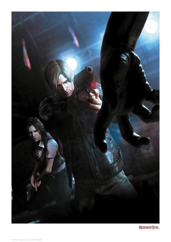 Resident Evil Art Print Bio Hazard 42 x 30 cm