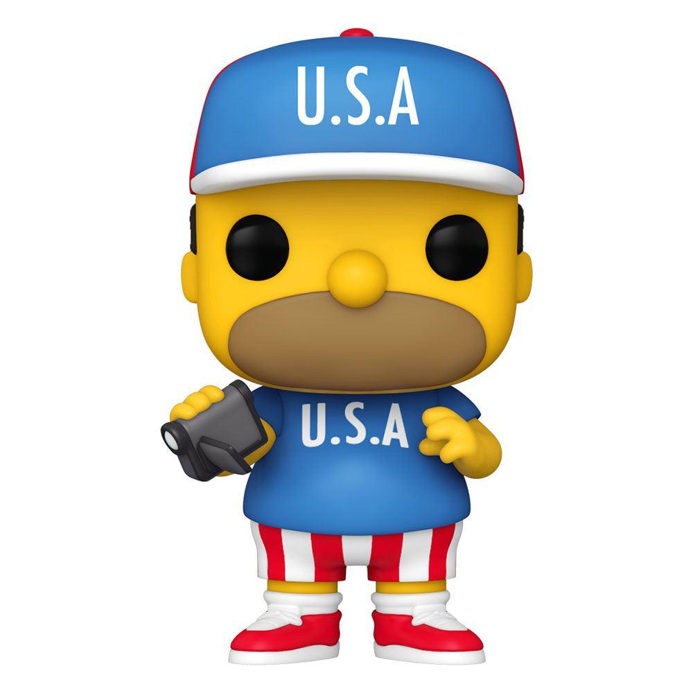 Simpsons POP! Animation Vinyl Figure USA Homer 9 cm