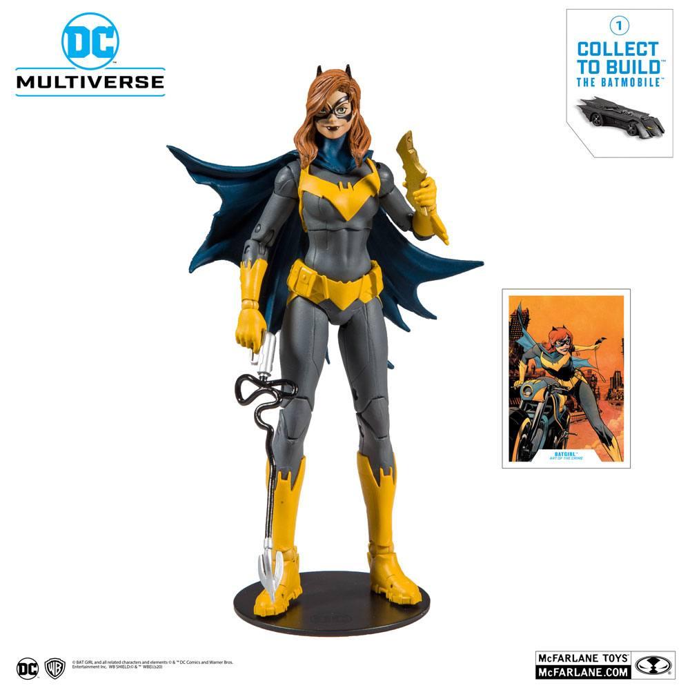 DC Rebirth Build A Action Figure Batgirl (Art of the Crime) 18 cm