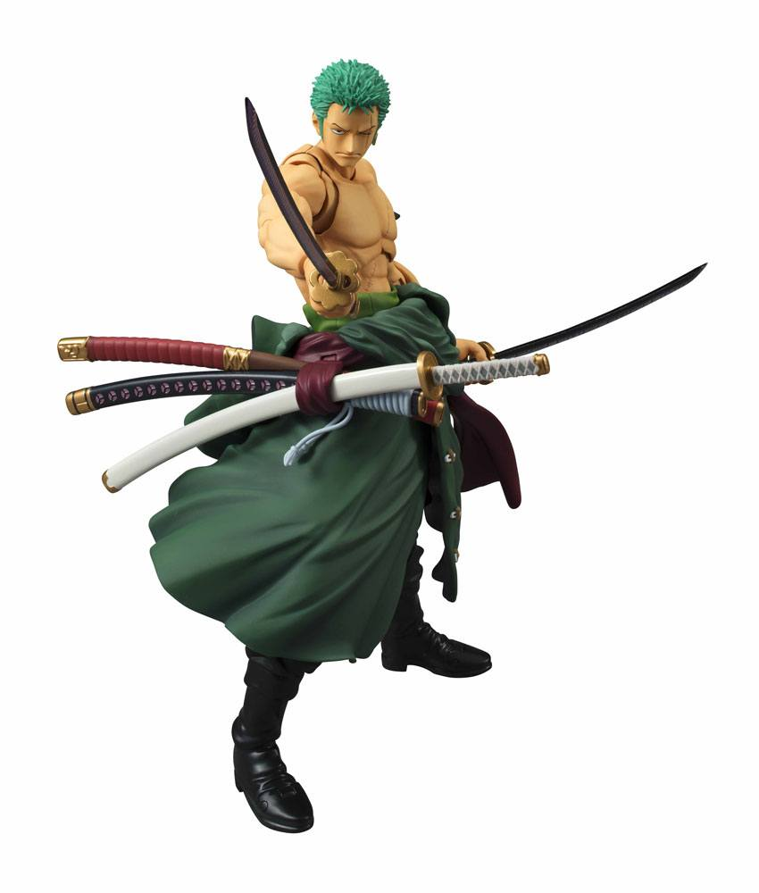 One Piece Variable Action Heroes Action Figure Roronoa Zoro Renewal Edition 18 cm