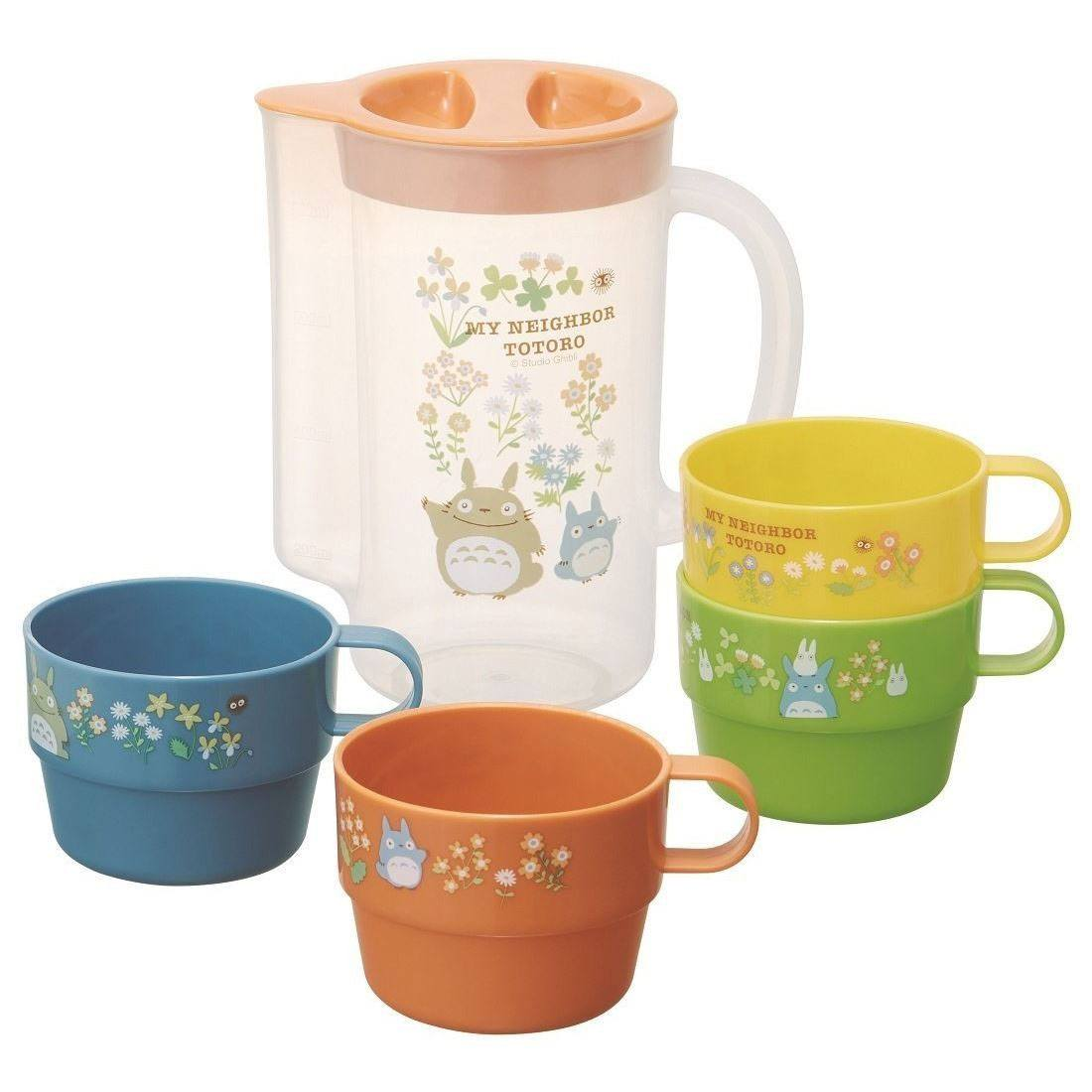 My Neighbor Totoro Stackable Mugs & Measuring Cup Set Totoro Flower