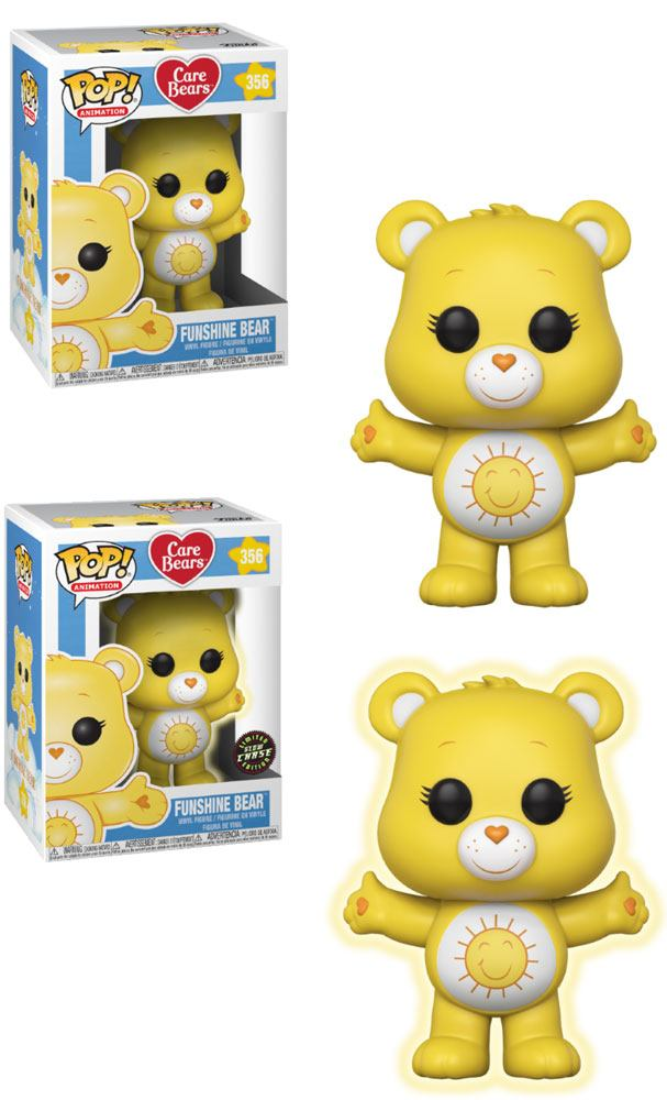 Care Bears POP! Animation Figures Funshine Bear 9 cm Assortment (6)