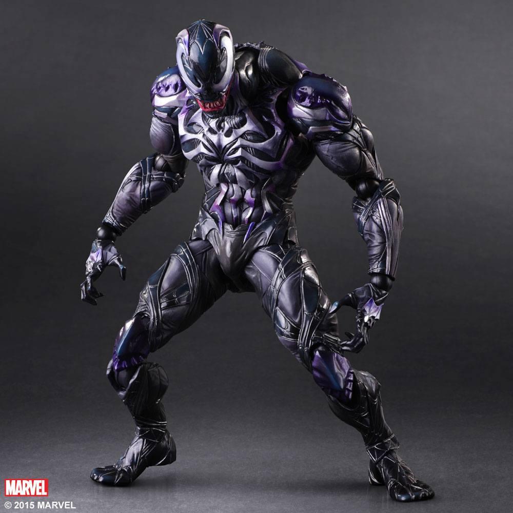 Marvel Comics Variant Play Arts Kai Action Figure Venom 26 cm