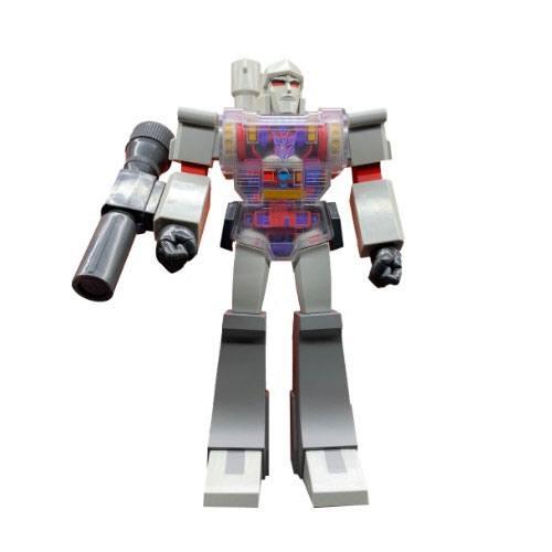 Transformers Action Figure Super Cyborg Megatron (G1 Clear Chest) 30 cm