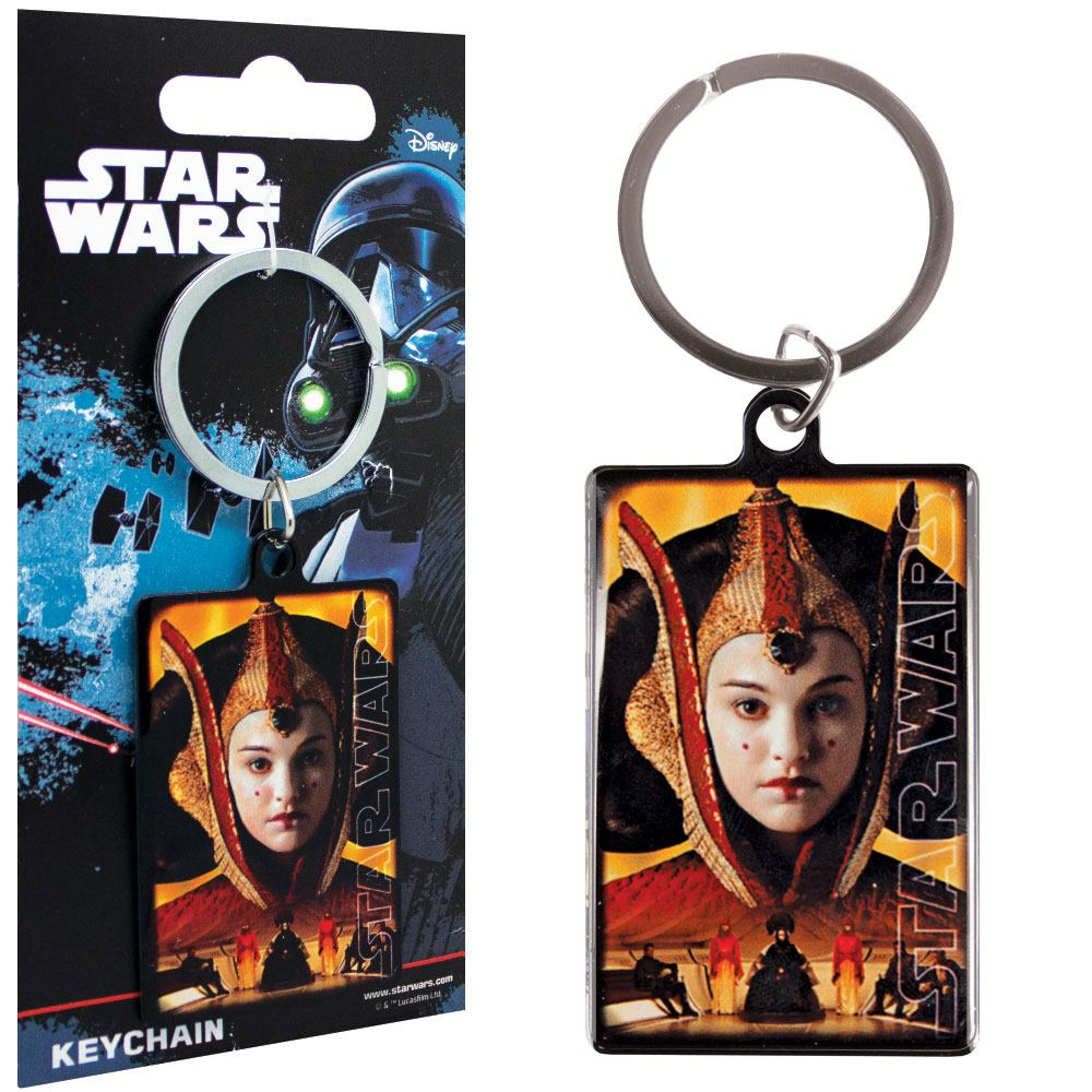 Star Wars Metal Keychain Queen Amidala 6 cm