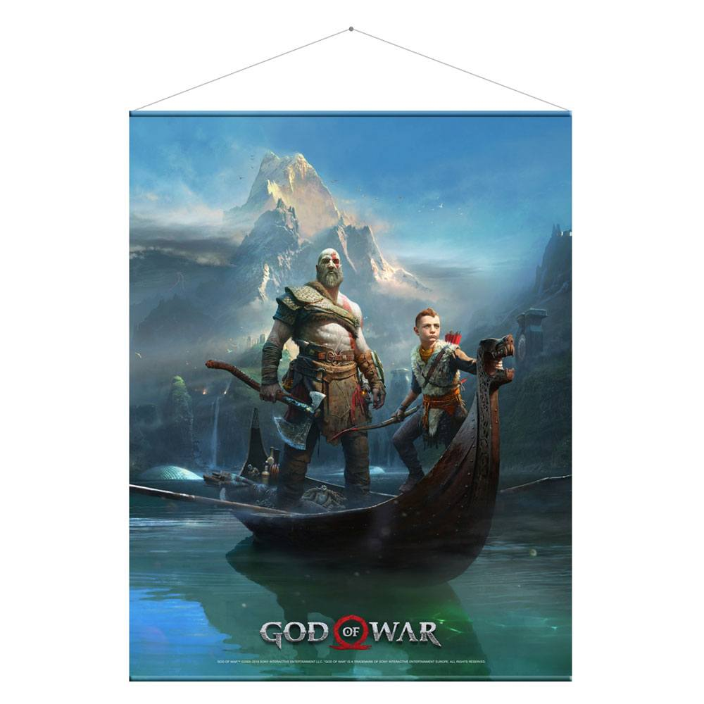 God of War Wallscroll Father and Son 100 x 77 cm