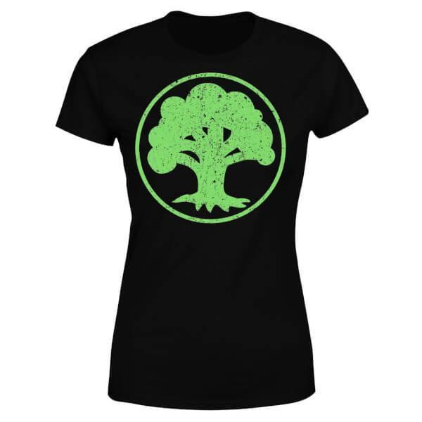 Magic the Gathering Ladies T-Shirt Mana Green Size L