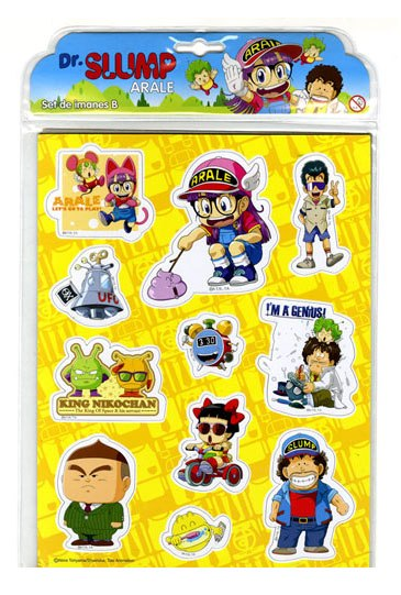 Dr. Slump 11-Piece Magnets Set B