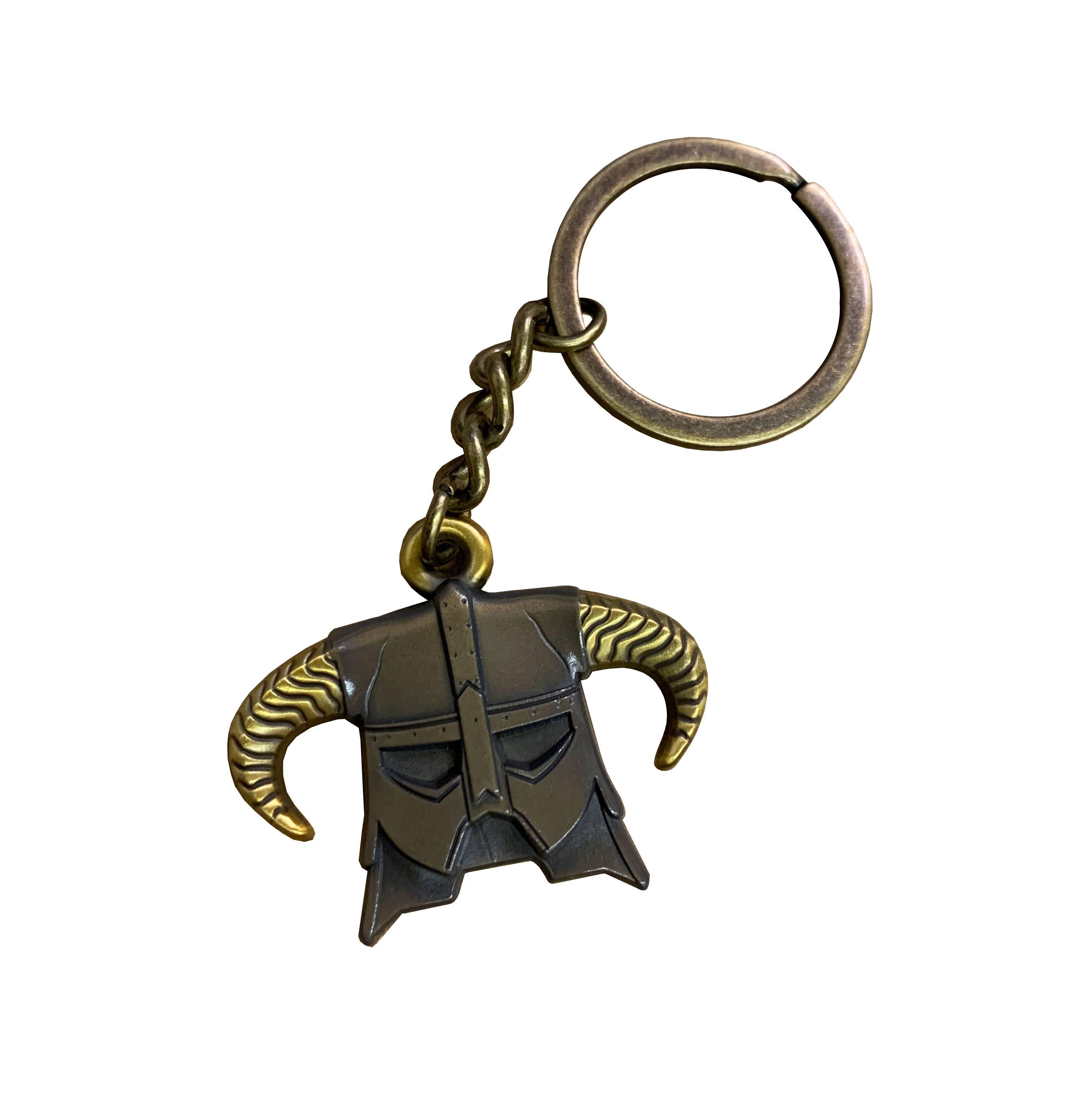Elder Scrolls V Skyrim Metal Keychain Limited Edition