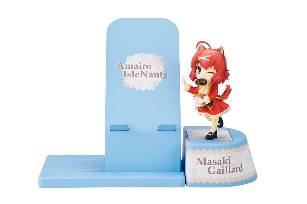 Amairo Islenauts Choco Sta Mini Figure Masaki Gaillard 13 cm