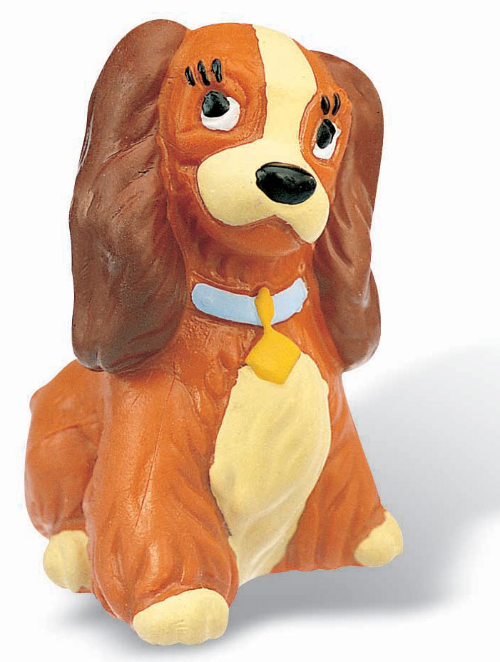 Lady and the Tramp Figure Lady 5 cm