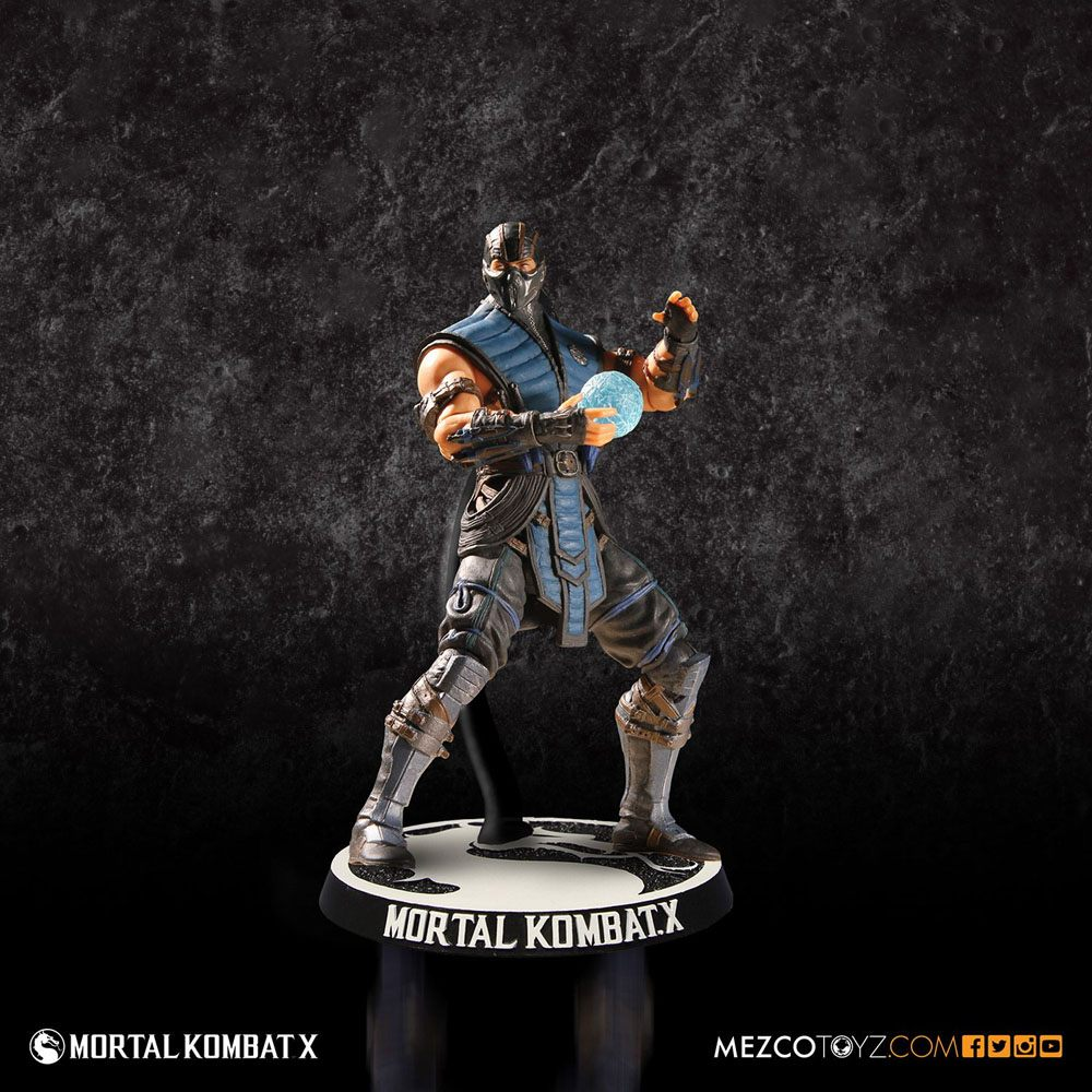 Mortal Kombat X Action Figure Sub Zero 10 cm