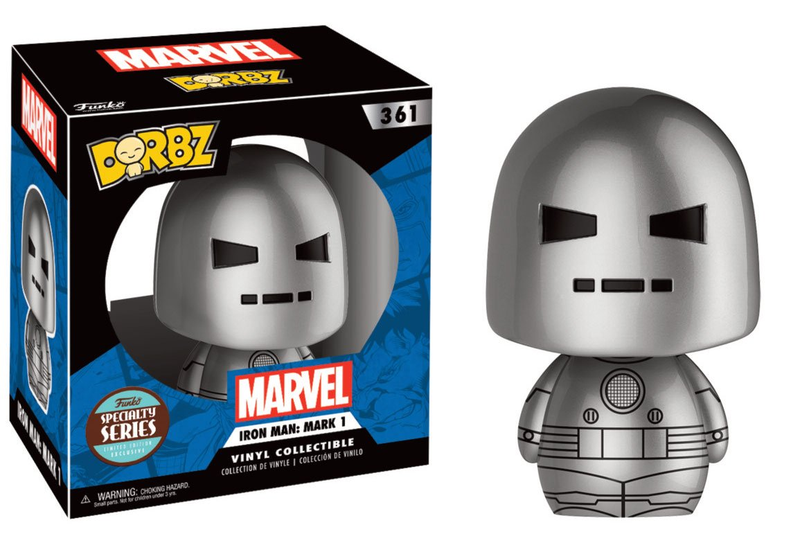 Marvel Comics Dorbz Vinyl Figure Speciality Series Iron Man Mark 1 8 cm