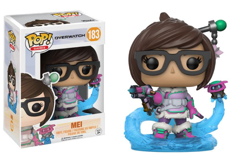 Overwatch POP! Games Vinyl Figure Mei 9 cm