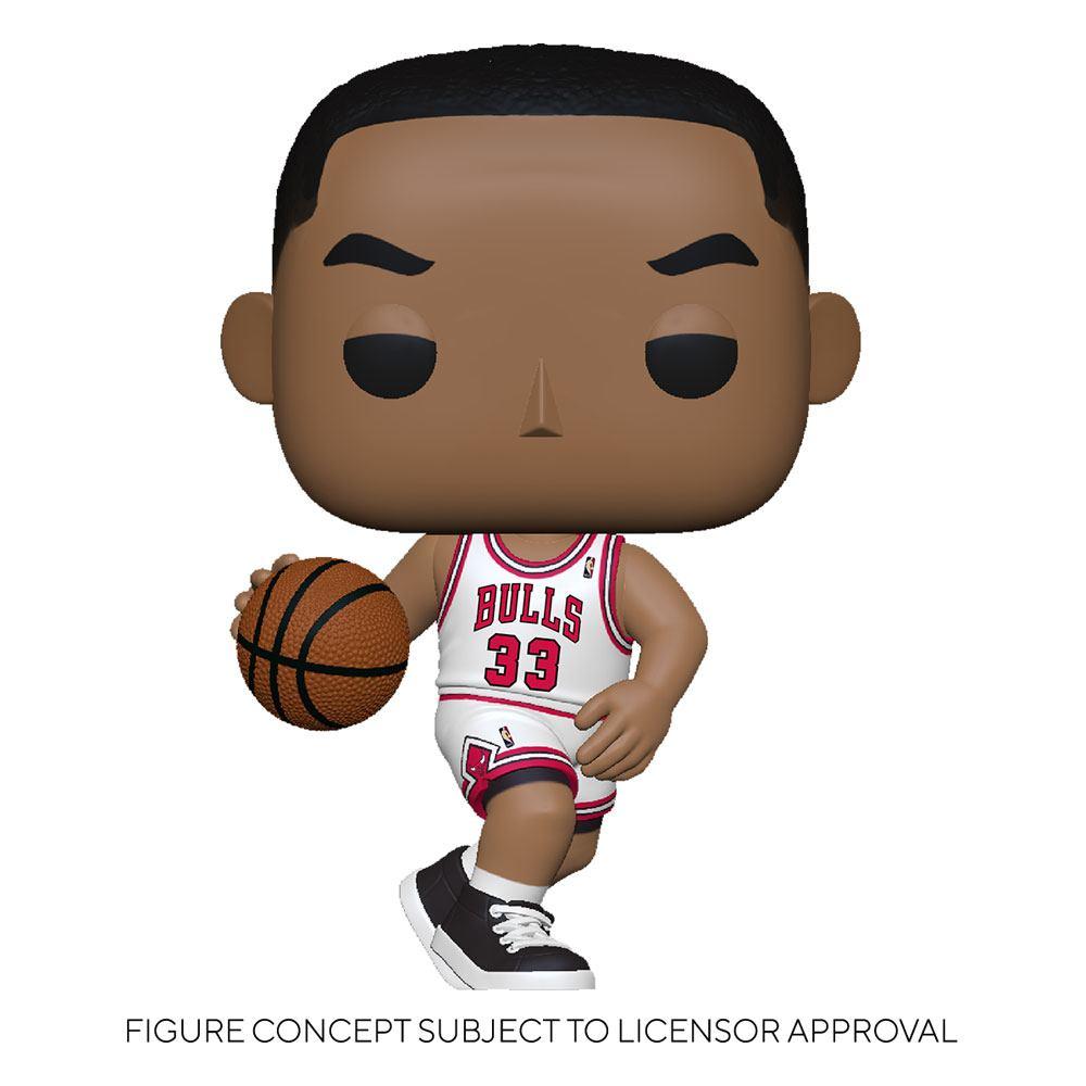 NBA Legends POP! Sports Vinyl Figure Scottie Pippen (Bulls Home) 9 cm