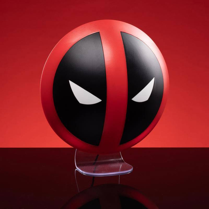 Deadpool 3D Light Logo 10 cm