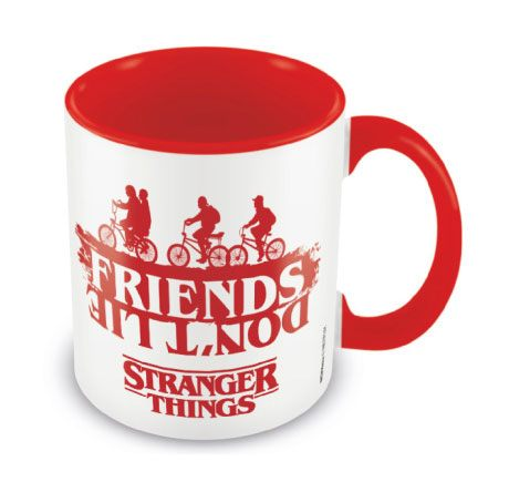 Stranger Things Coloured Inner Mug Friends Don't Lie