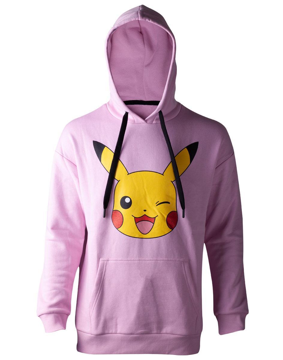 Pokémon Ladies Hooded Sweater Pikachu Size XL