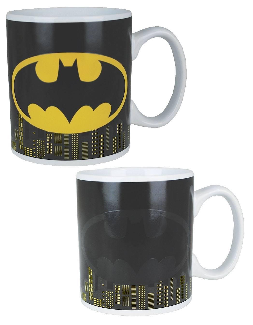 Batman Heat Change Mug Logo