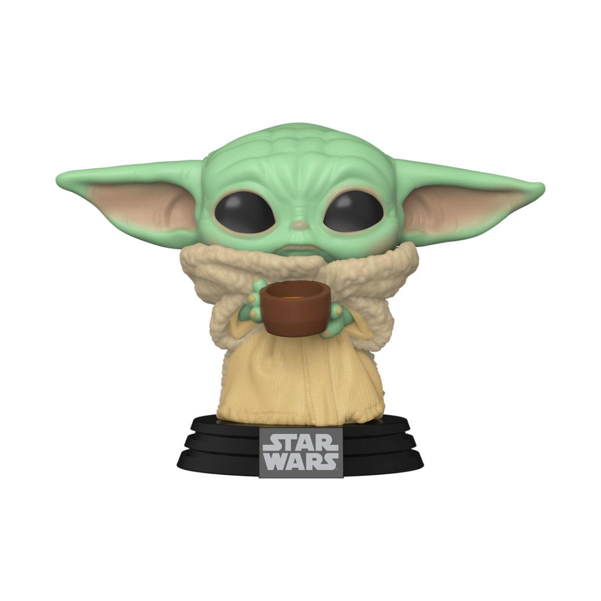 The Mandalorian POP! Star Wars Vinyl Figure The Child w/ Cup 9 cm