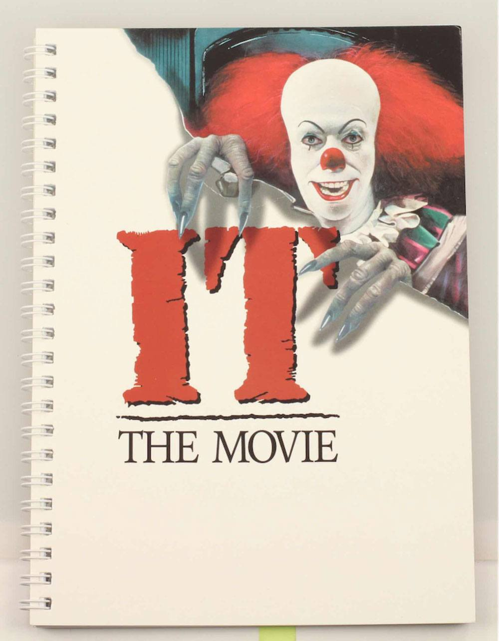 Stephen King's It 1990 Notebook Movie Poster