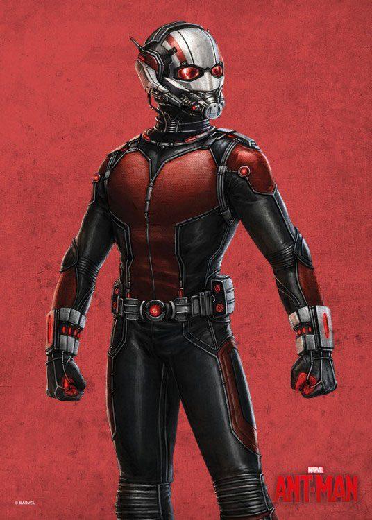 Marvel Comics Metal Poster Ant-Man 32 x 45 cm