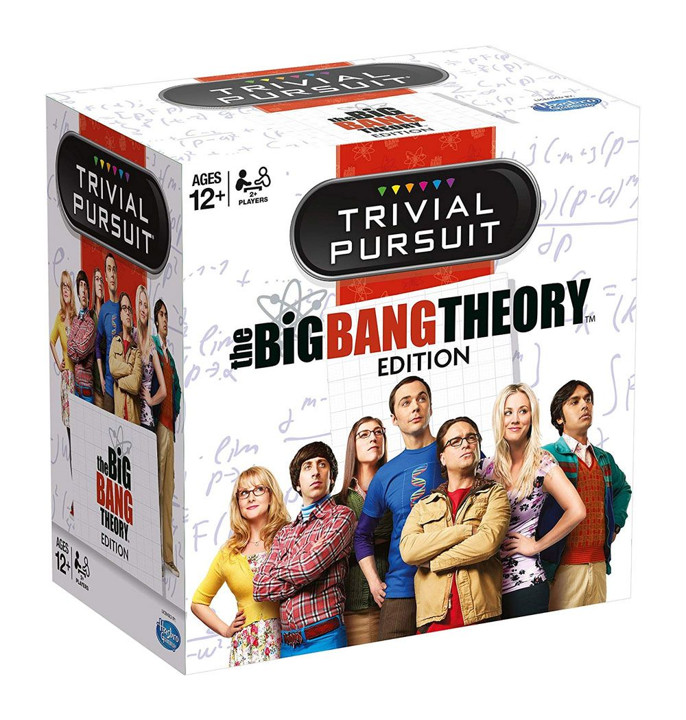 The Big Bang Theory Card Game Trivial Pursuit *English Version*