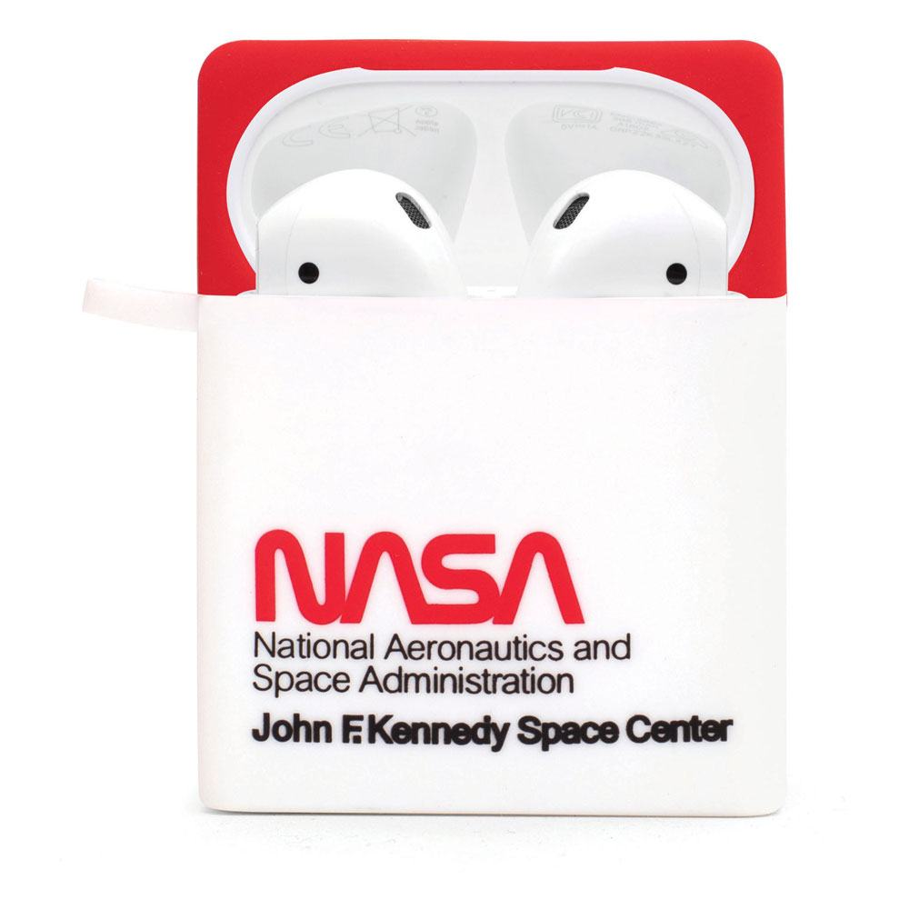 NASA PowerSquad AirPods Case Logo