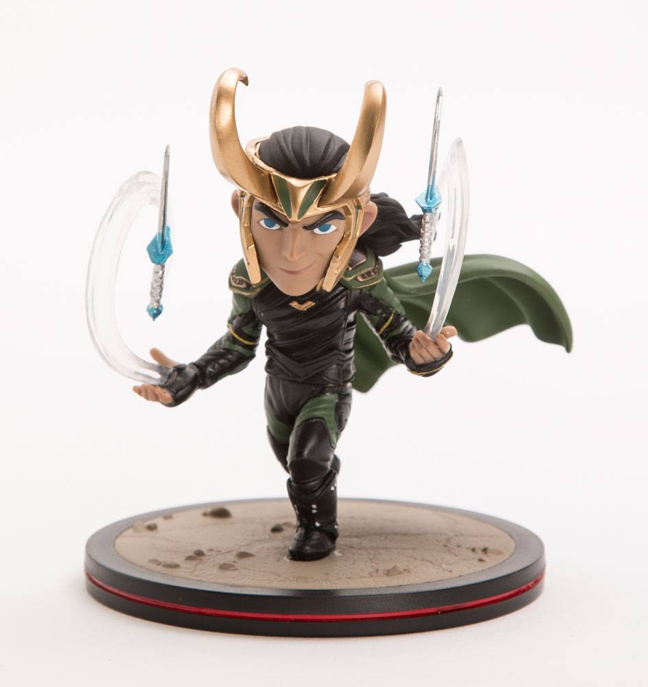 Thor Ragnarok Q-Fig Diorama Loki 10 cm --- DAMAGED PACKAGING